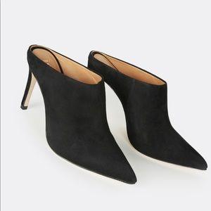 Joie suede mule / black / size 36.5 / 6.5